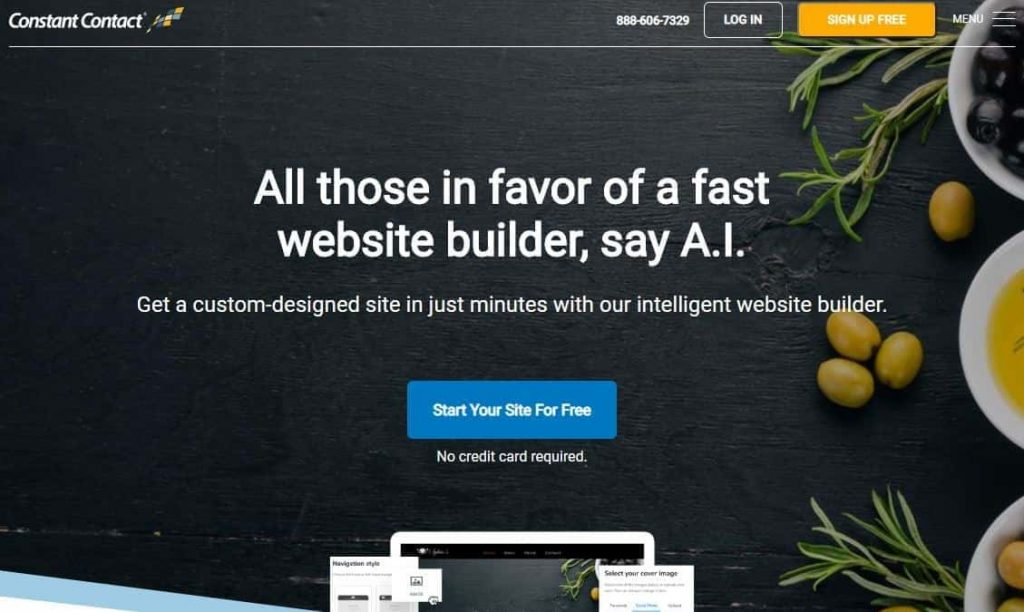 Best Website Builder Constant Connect